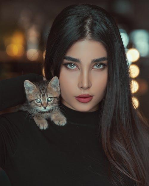 Fotobanka sbezplatnými fotkami na tému bruneta, dievča, dlhý, fotka