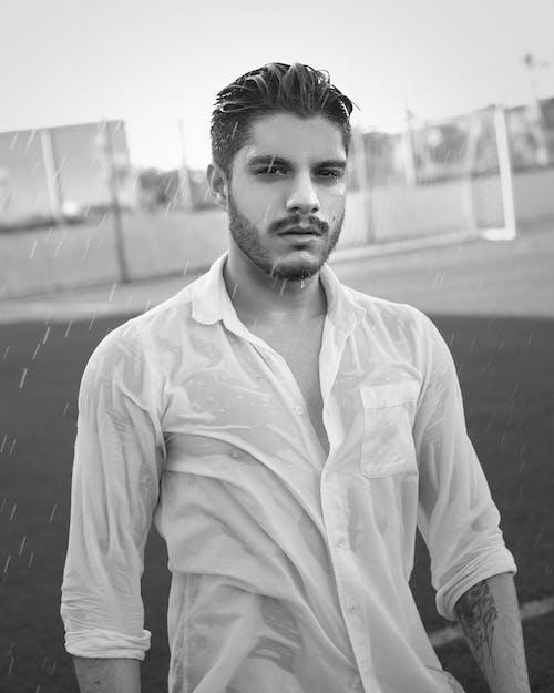 Gratis stockfoto met acteur, baard, bovenkleding, fashion