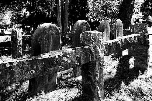 Free stock photo of cemetery, grave, gravestone, gravestones