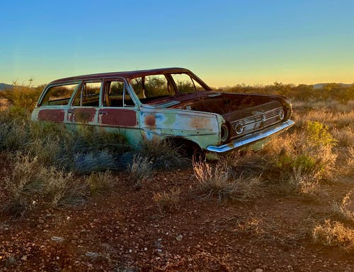Free stock photo of abandoned, cars, old car