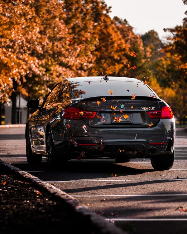 Black Bmw M 3 on Road