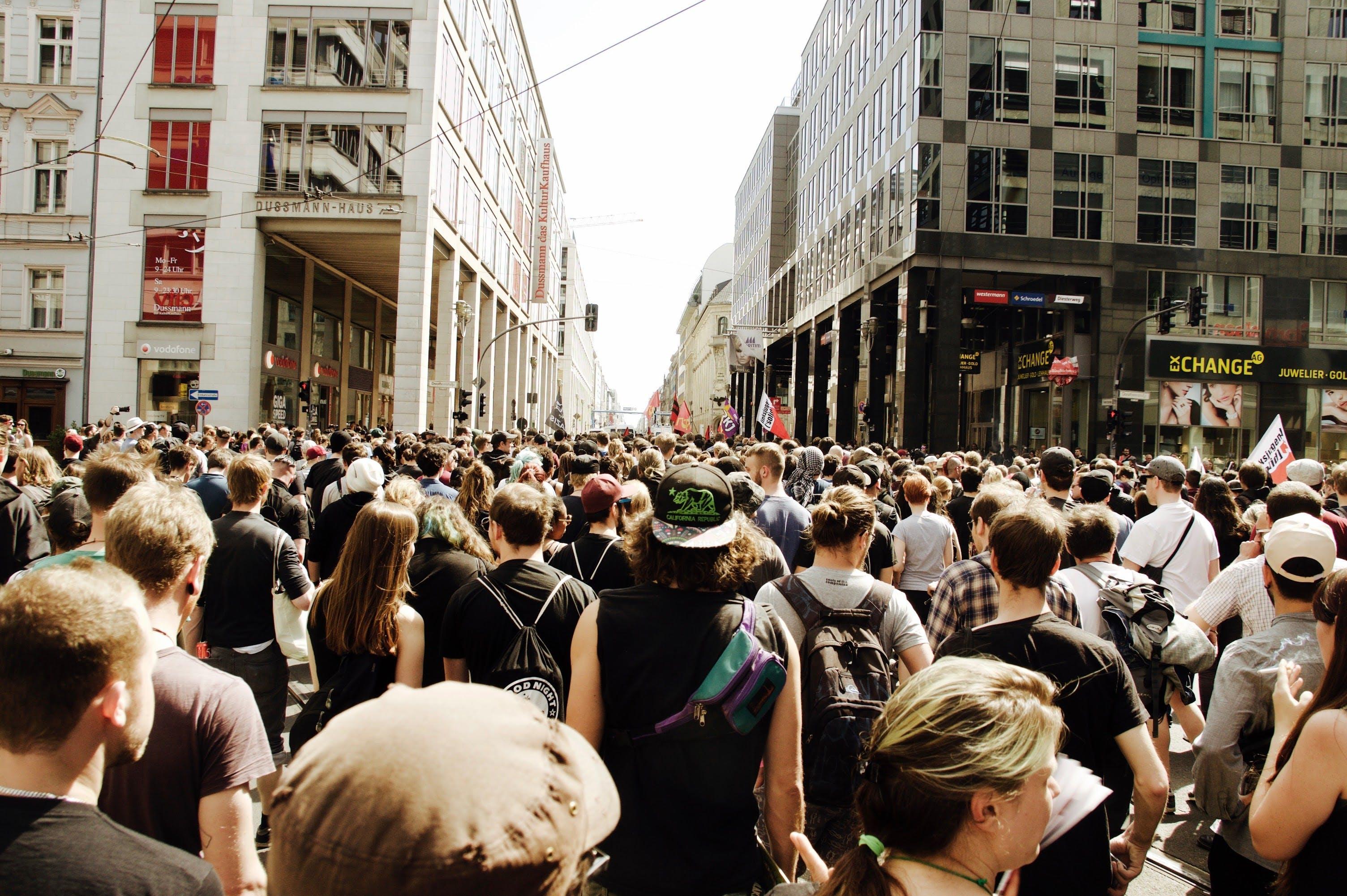 Free stock photo of crowd, berlin, demonstration, politics