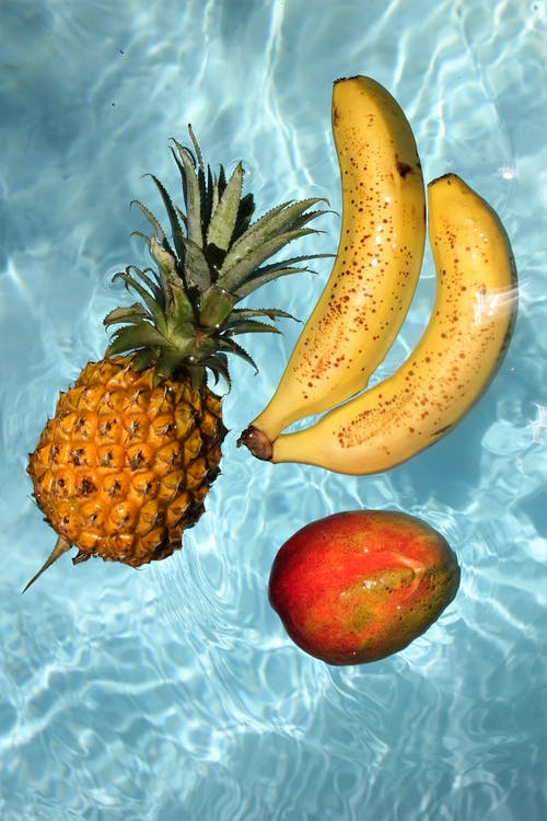 Fruits Floating on Water
