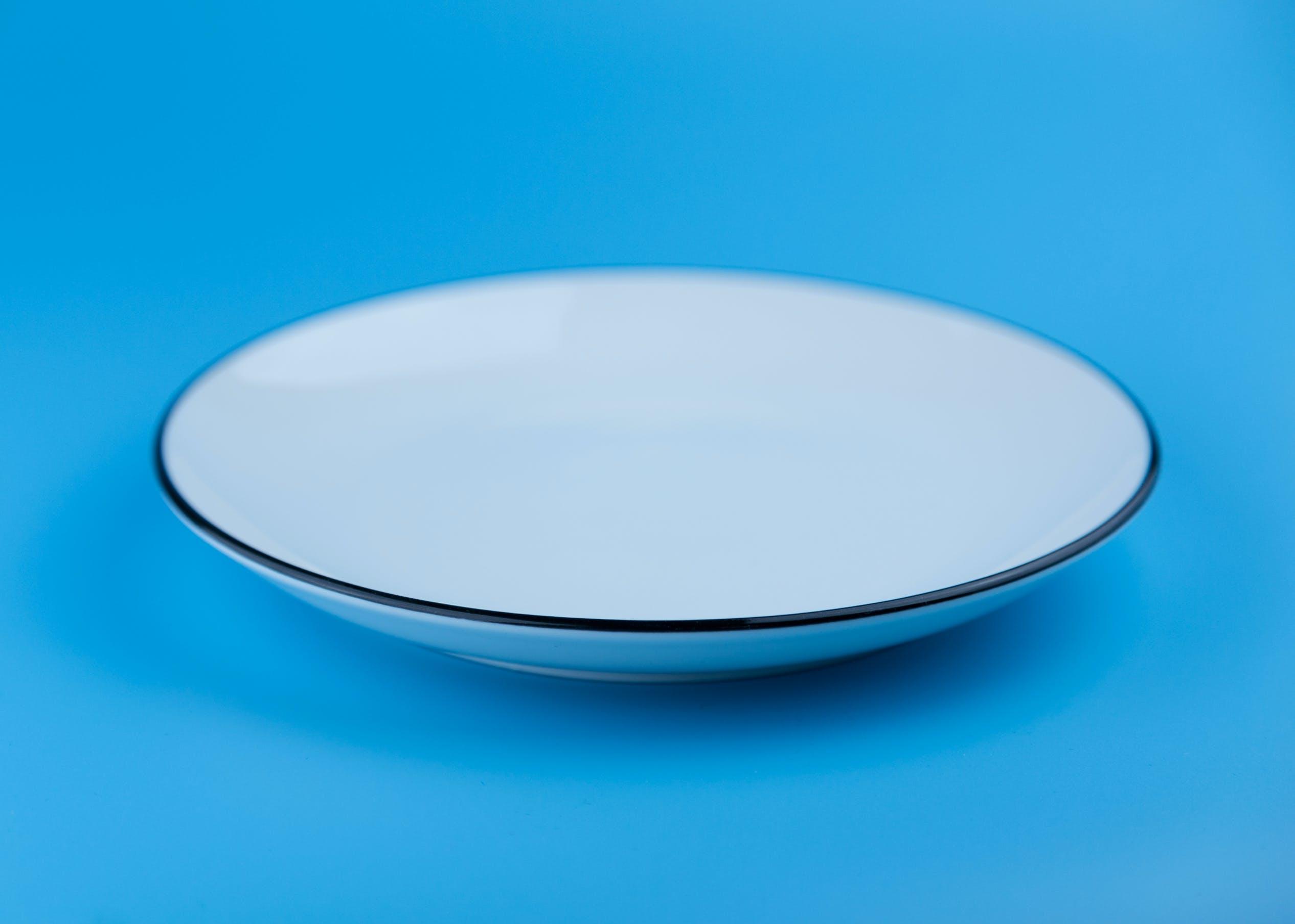 Round Gray Bowl