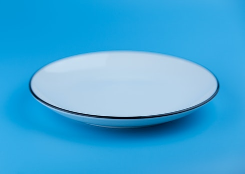 Free stock photo of plate, blue, abstract, design