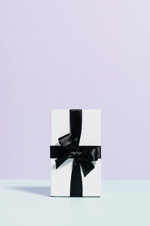 White and Black Gift Box