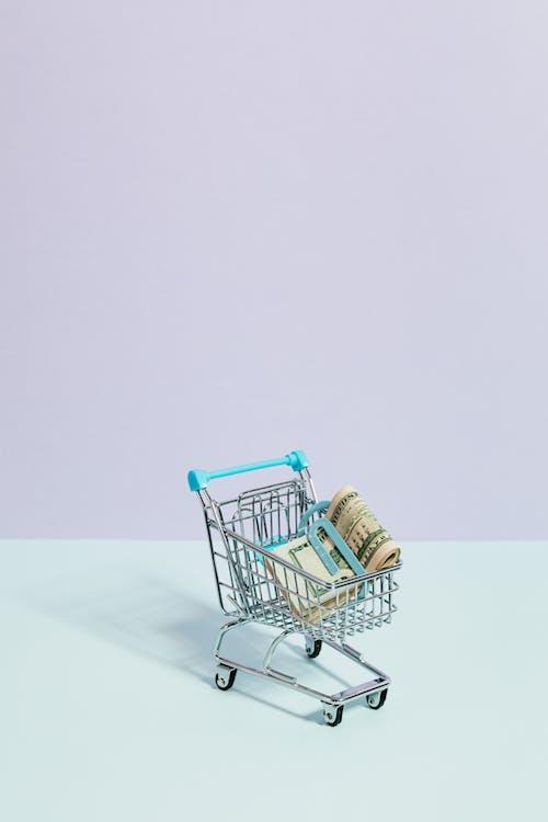 Ingyenes stockfotó bevásárlás, bevásárlókocsi, fekete péntek, készpénz témában
