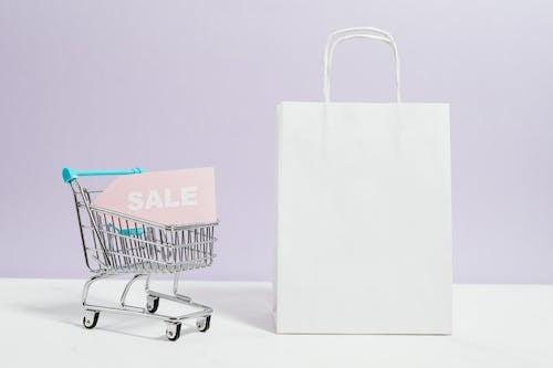 คลังภาพถ่ายฟรี ของ black friday, กระเป๋าช้อปปิ้ง, การขาย, ขนาดเล็ก