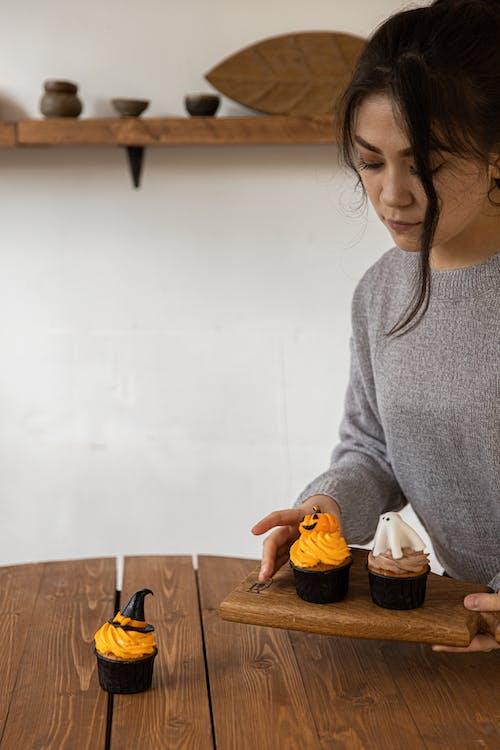Kostenloses Stock Foto zu backwaren, cupcakes, design, dessert