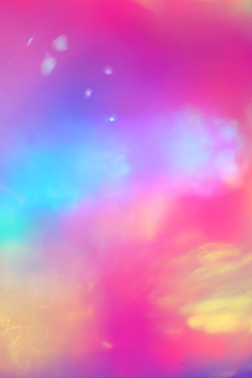 Foto profissional grátis de abstrair, abstrato, aquarela, arco-íris