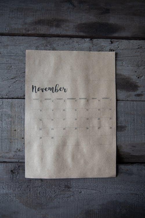 Imagine de stoc gratuită din anotimp, calendar, concept, conceptual