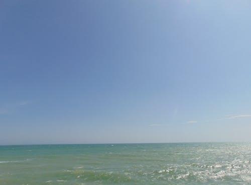 Fotos de stock gratuitas de agua Azul, Agua de mar, cielo
