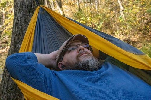 Free stock photo of hammock, relaxing