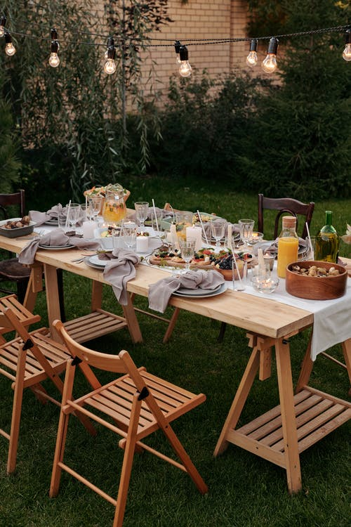cute summer garden furniture