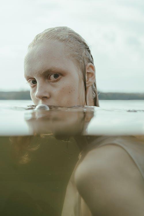 Fotos de stock gratuitas de agua, húmedo, mirando a la cámara