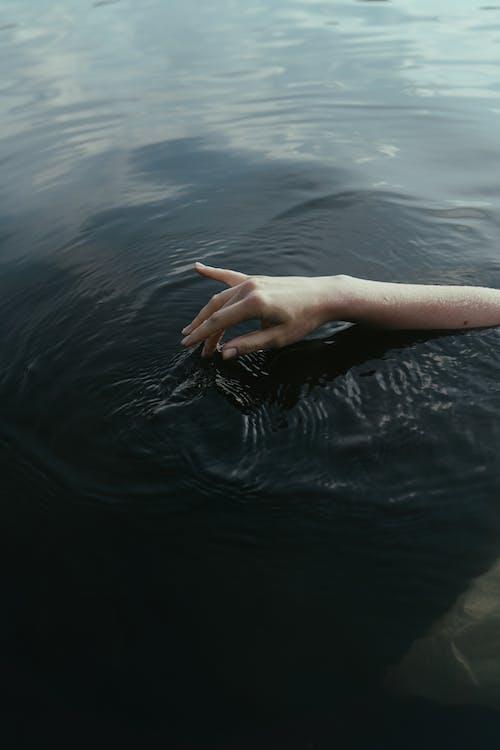 Immagine gratuita di bagnato, mano, parte del corpo