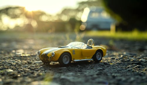 Free stock photo of cars, golden hour, sunset, toys