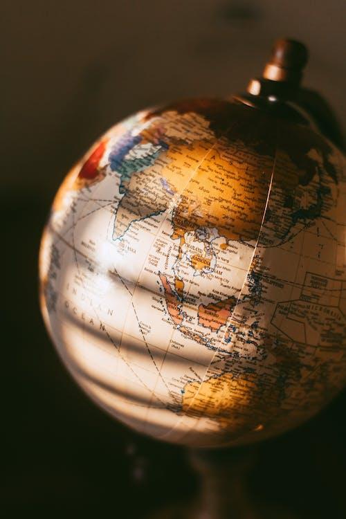 Close Up Photo of Desk Globe