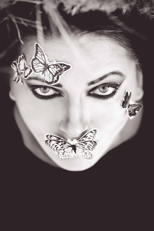 Ingyenes stockfotó ajkak, álló kép, arc, divat témában