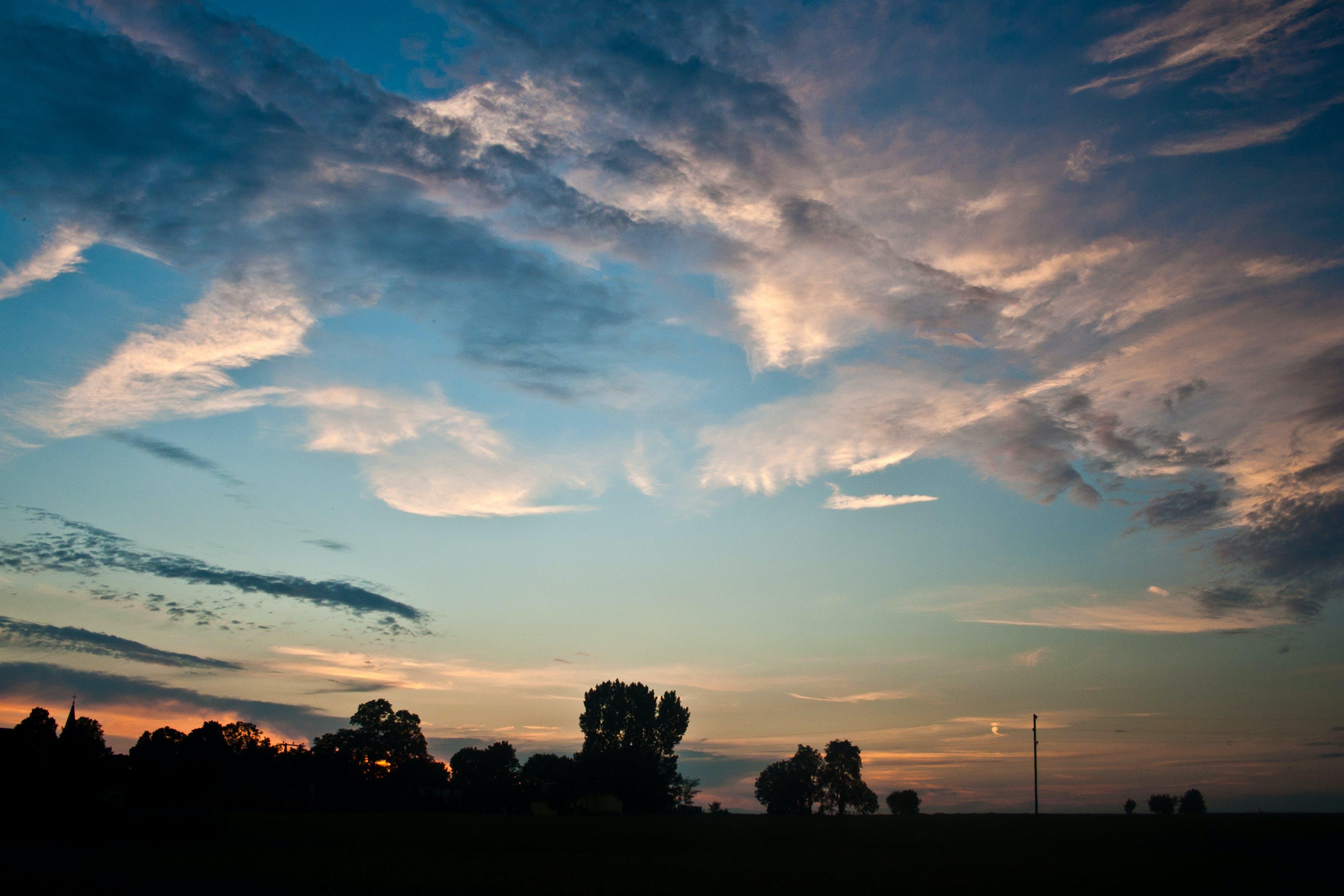 Foto profissional grátis de alvorecer, céu, crepúsculo, nascer do sol