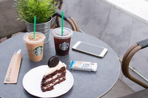 Kostenloses Stock Foto zu fokus, kaffee, kuchen, nahansicht