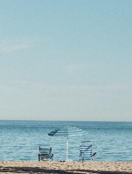 Free stock photo of sea, city, nature, beach