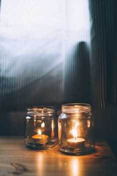Free stock photo of light, glass, candlelight, candles