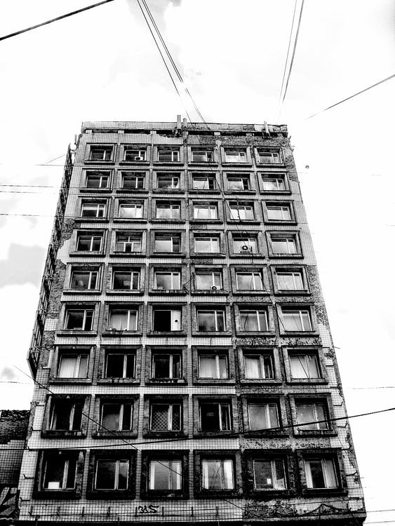 Free stock photo of architecture, black and white, city
