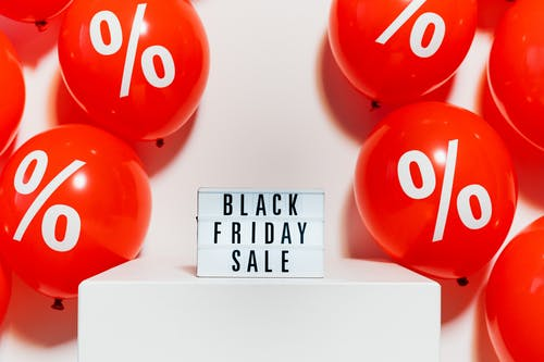 A Black Friday Sale Signage