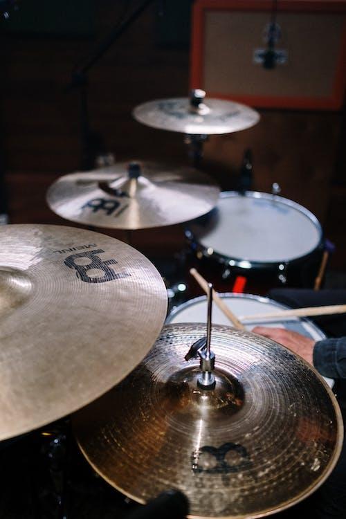 Kostnadsfri bild av anonym, band, bas trumma