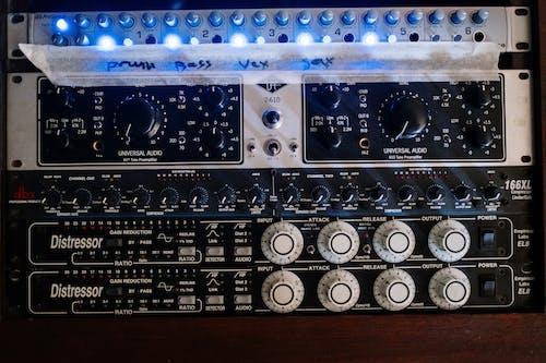 Kostnadsfri bild av akustisk, analog, blandningskonsol