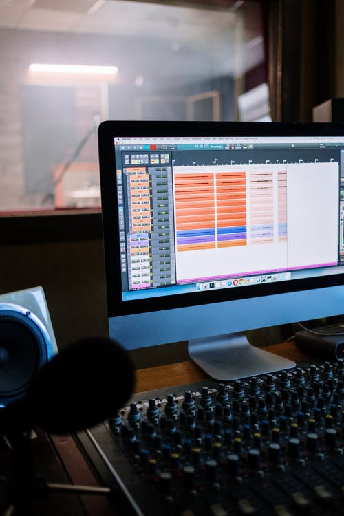 Free stock photo of acoustic, audio engineering, audio mixer, business