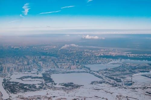 Foto profissional grátis de aéreo, alameda, alto