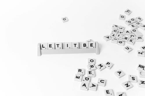 White and Black Lego Blocks