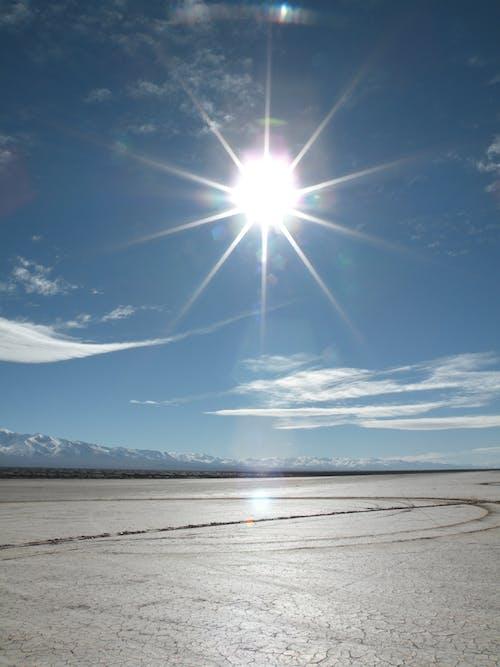 Free stock photo of desert, mountains, sky