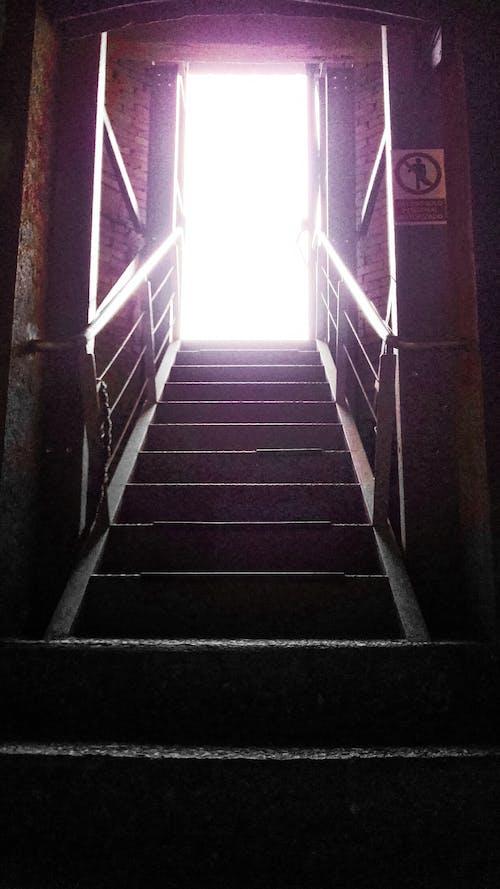 Free stock photo of door, escape, light