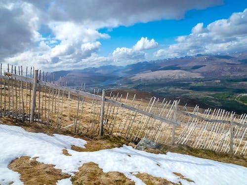 Free stock photo of fence, highlands, landscape