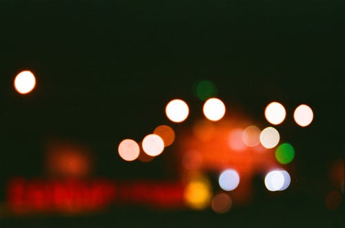 Blurred Photo of City Lights