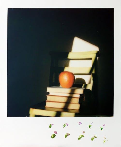 Gratis arkivbilde med apple, bøker, bokhylle