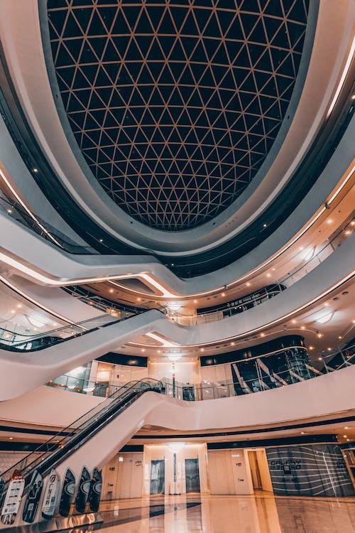商業, 城市, 天花板, 室內 的 免費圖庫相片