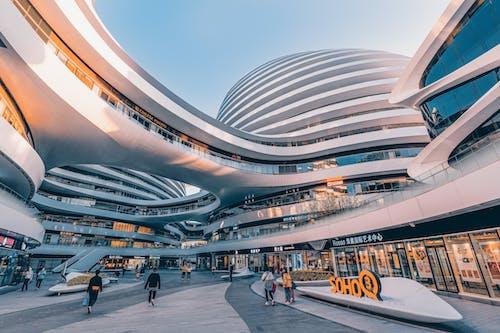 Бесплатное стоковое фото с архитектура, Аэропорт, бизнес, быстрый