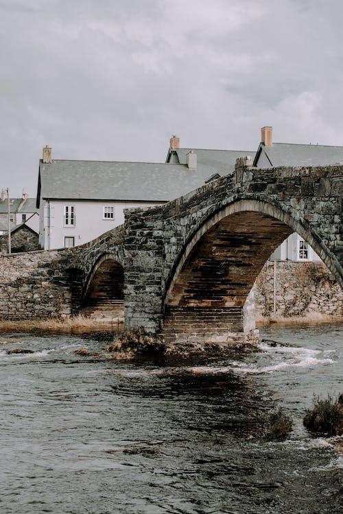 Immagine gratuita di fiume, ponte