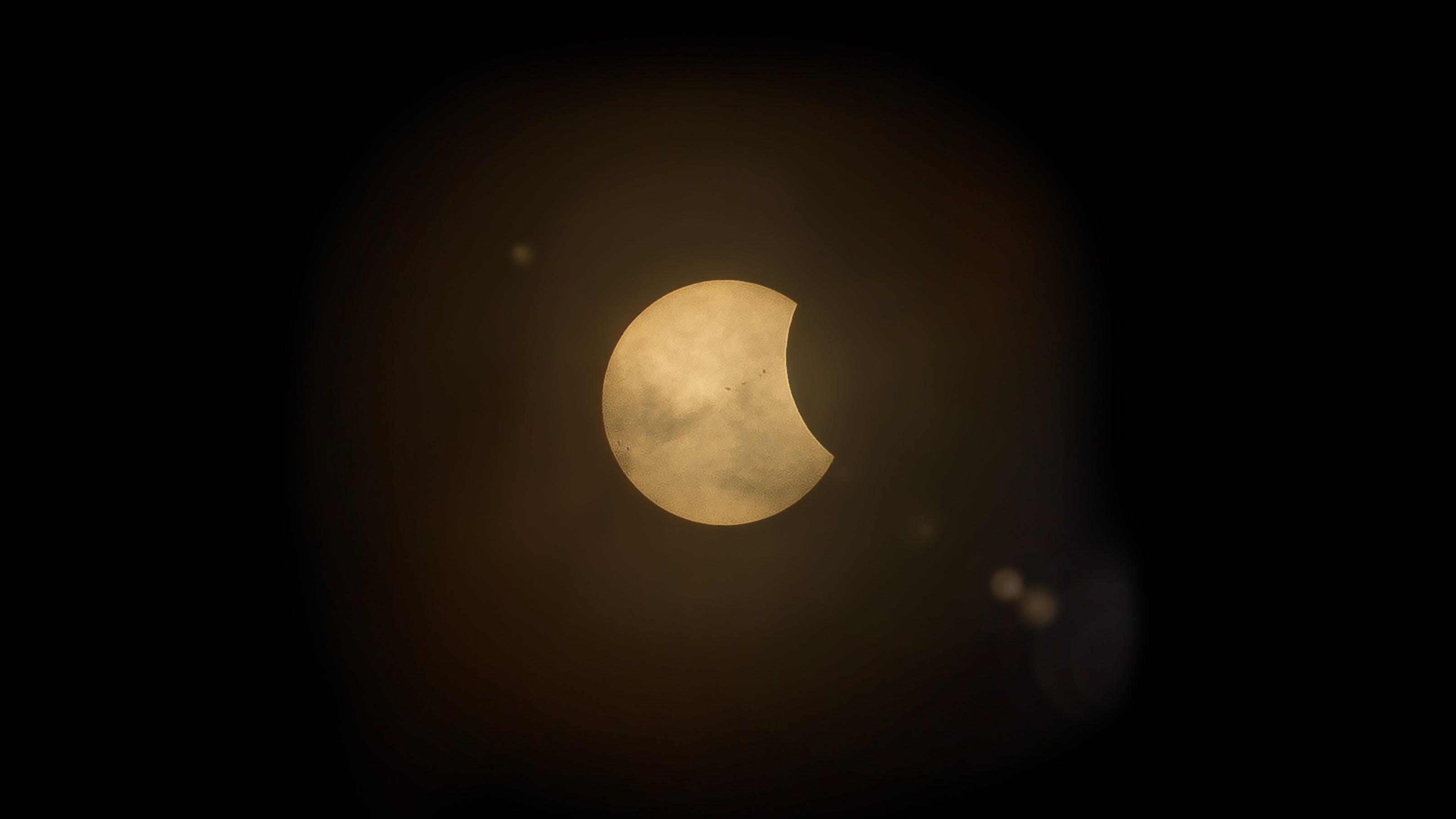 Free stock photo of night, space, dark, circle