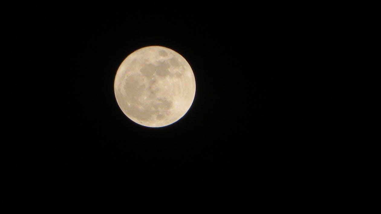 Free stock photo of beautiful, full moon, night