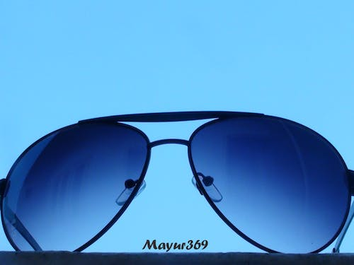 Free stock photo of blue, shades, simple