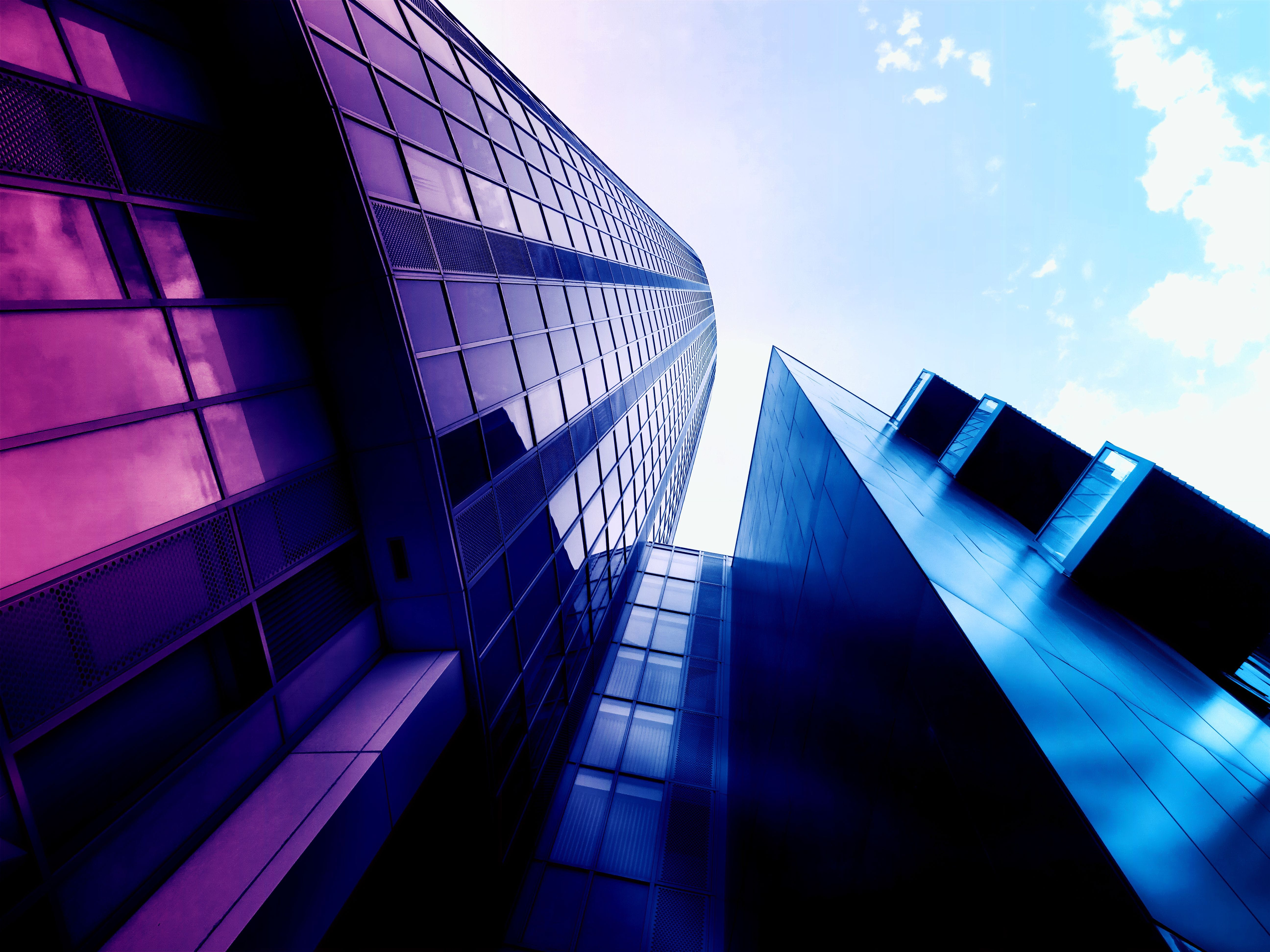 High-rise Building Digital Wallpaper