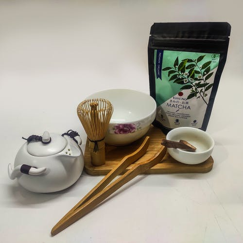 Free stock photo of matcha tea, tea, tea set