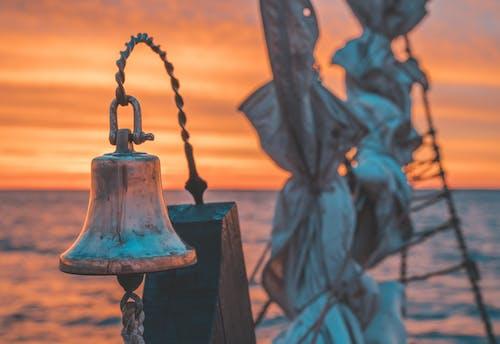 Free stock photo of bell, sail boat, sailing, sails