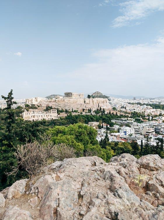 Immagine gratuita di acqua, acropoli, antico