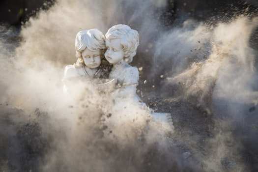 Free stock photo of girl, dust, abstract, statue